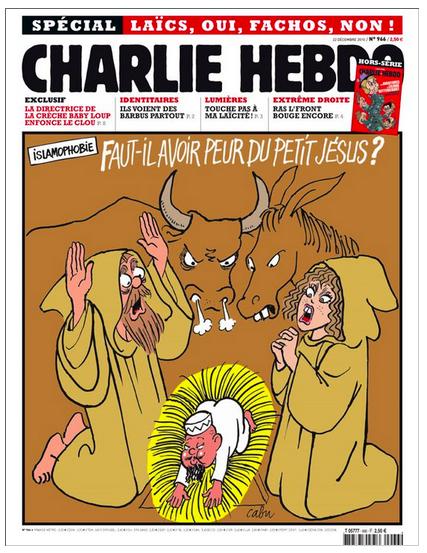 12 скандальных обложек Charlie Hebdo [18+] - Изображение 10