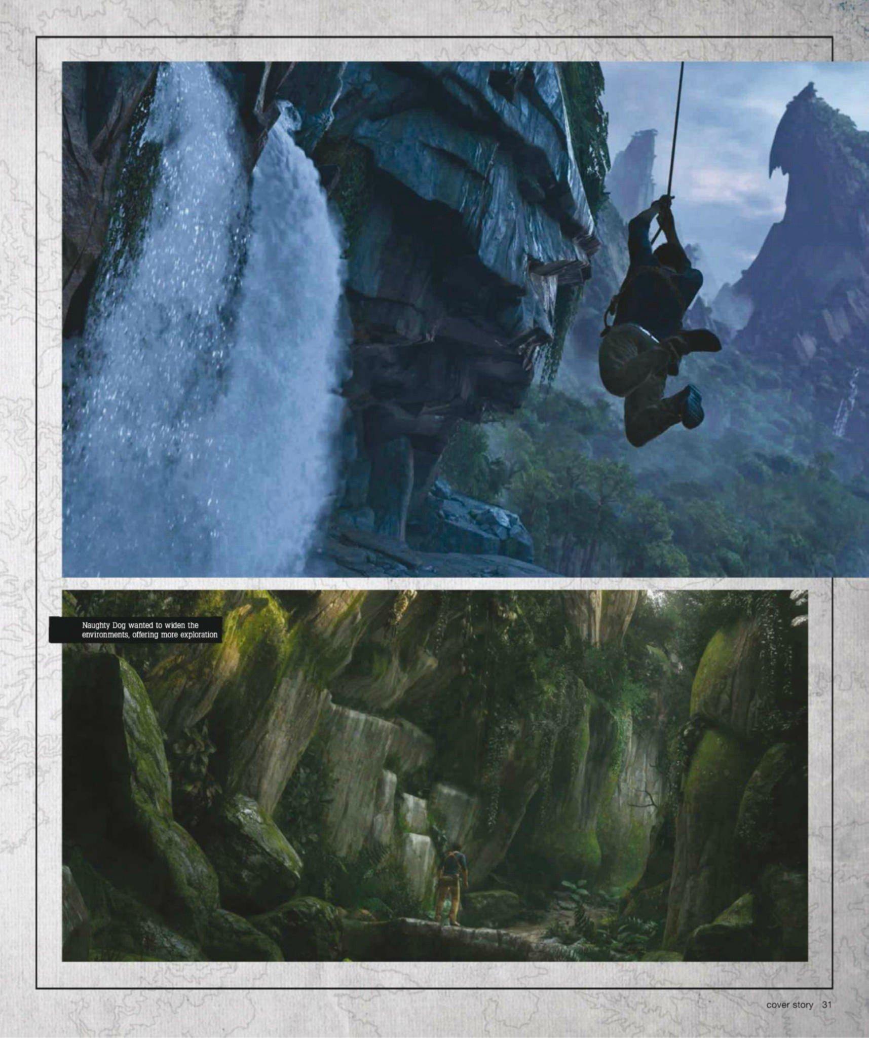 Сканы Uncharted 4: A Thief's End из свежего номера Game Informer  - Изображение 3