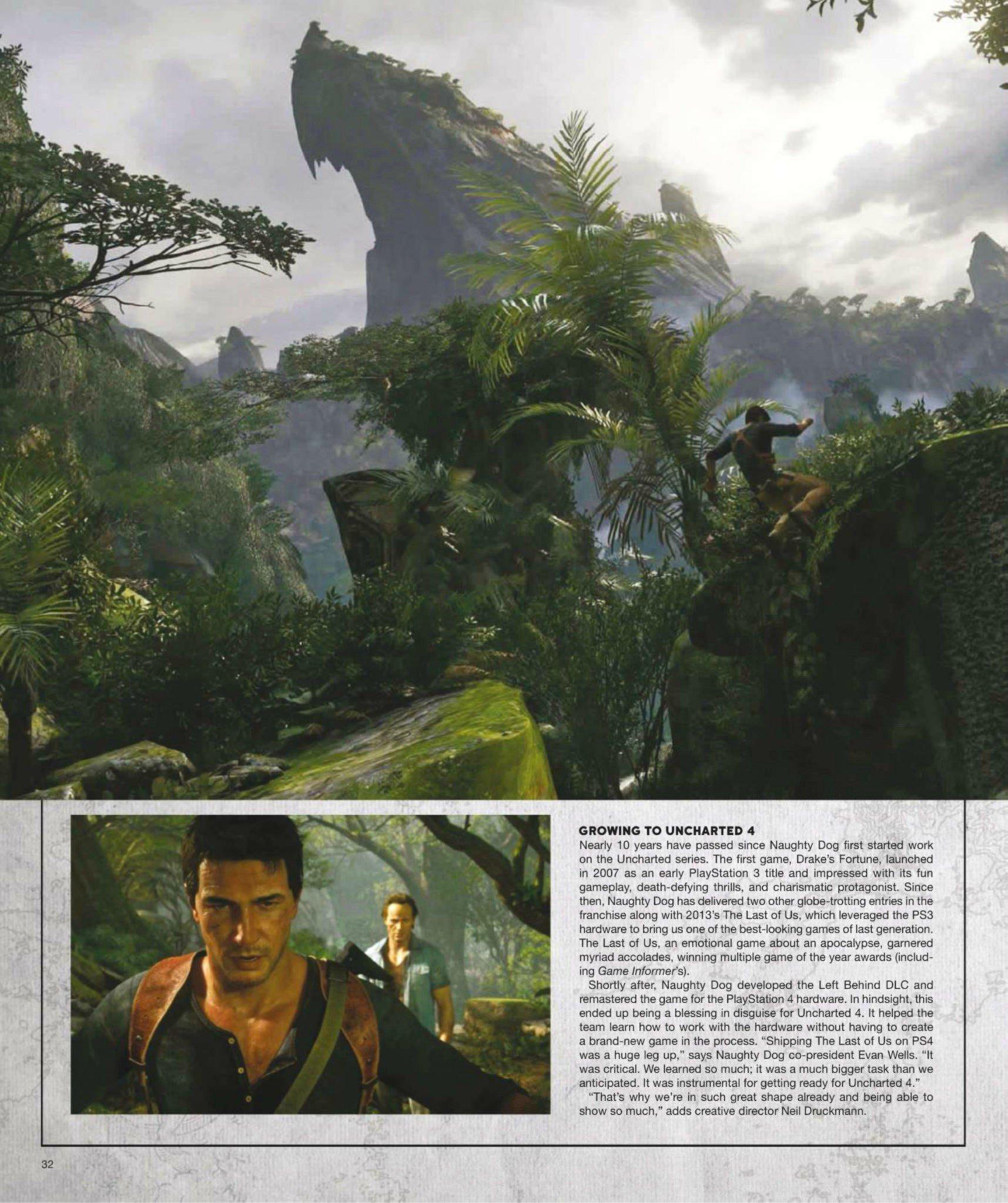 Сканы Uncharted 4: A Thief's End из свежего номера Game Informer  - Изображение 4