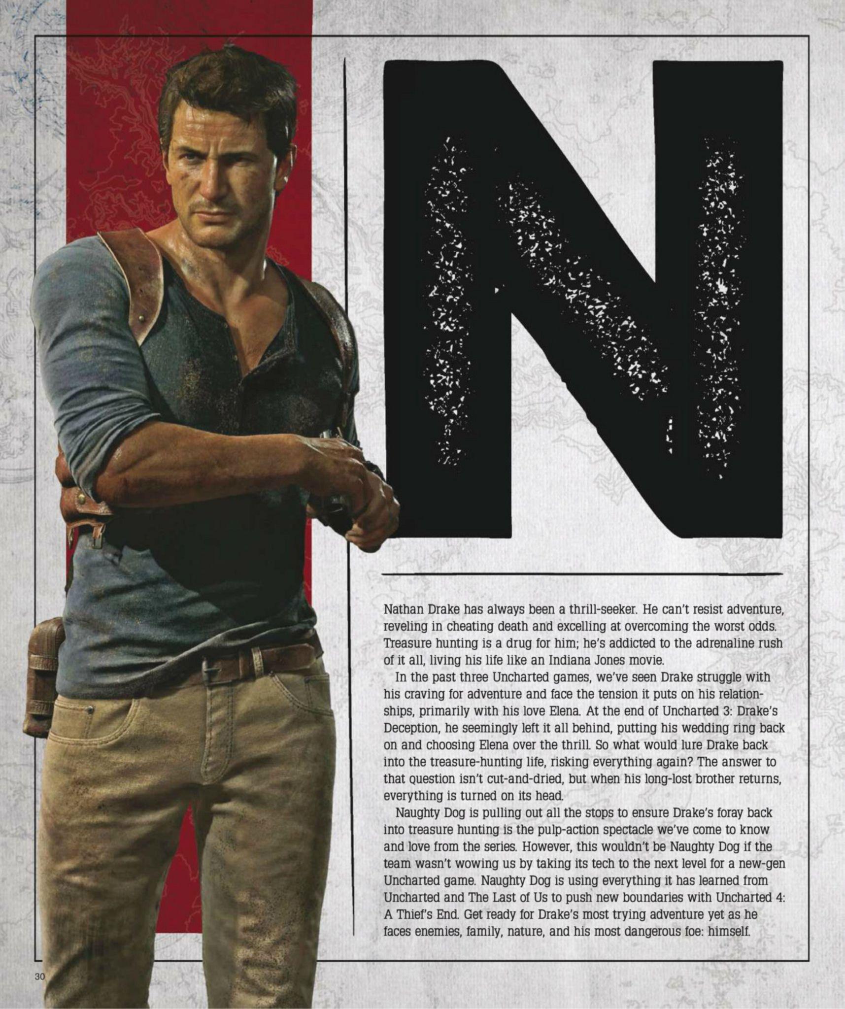 Сканы Uncharted 4: A Thief's End из свежего номера Game Informer  - Изображение 2