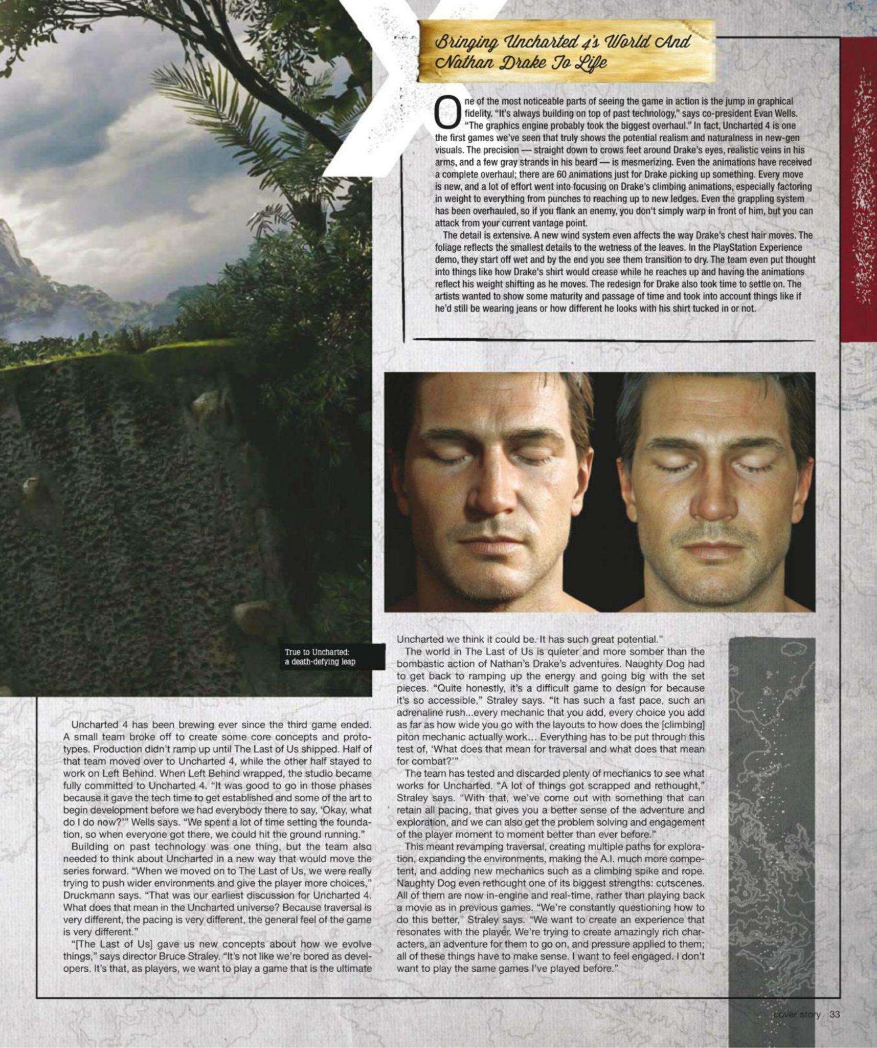 Сканы Uncharted 4: A Thief's End из свежего номера Game Informer  - Изображение 5