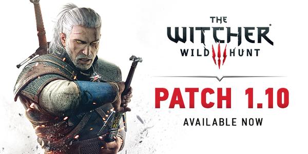 The Witcher 3: Wild Hunt. Вышел патч 1.10.   Патч включает в себя около 600 изменений и исправлений, фиксы множества ... - Изображение 1