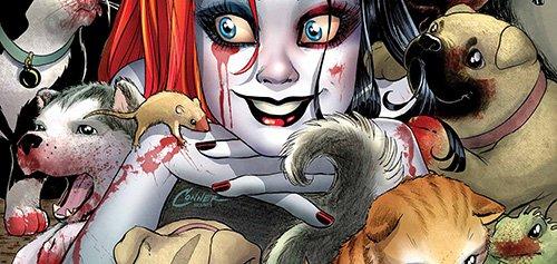 Как Дикая Охота связана с Harley Quinn: множество интересных букв почитать - Изображение 8