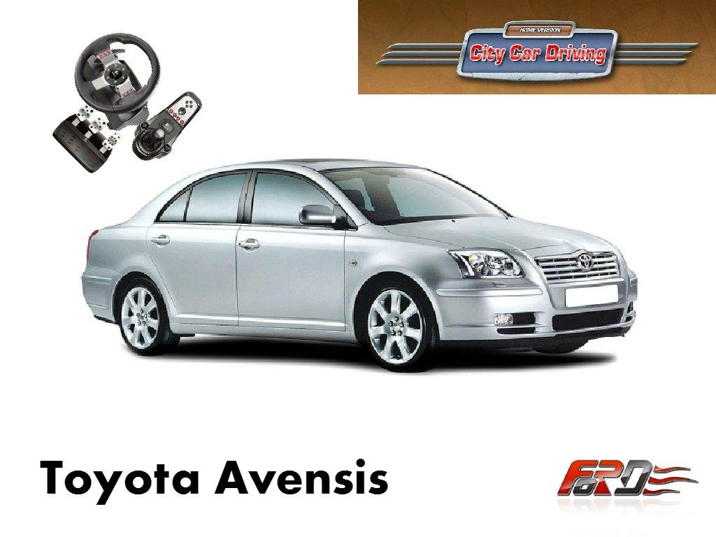 Toyota Avensis тест-драйв, обзор, разгон, динамика City Car Driving  - Изображение 1