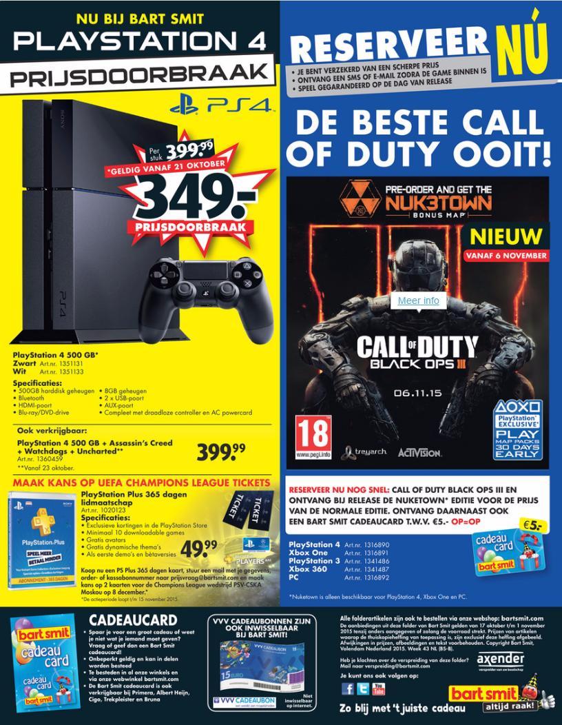 Стоимость PlayStation 4 в Европе будет снижена до 350 евро, сообщают ритейлеры - Изображение 1