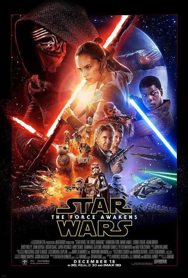 Официальный постер седьмого эпизода «Звездных войн» - Изображение 1
