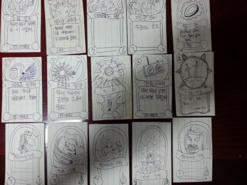 Кореец нарисовал все карты Hearthstone во время службы в армии - Изображение 2