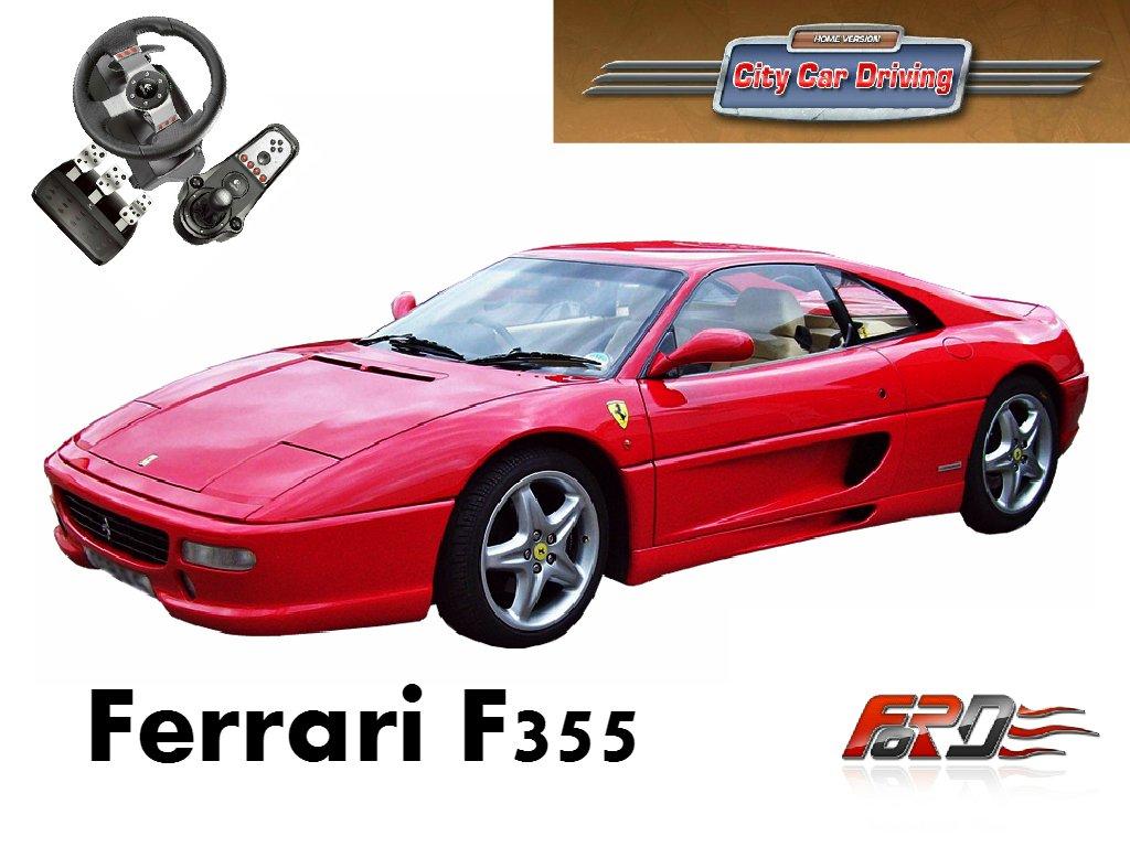 Ferrari F355 Berlinetta тест-драйв, обзор, динамика, разгон City Car Driving  - Изображение 1