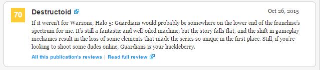 Оценки самой главной игры Xbox One! Halo 5: Guardians!  - Изображение 6