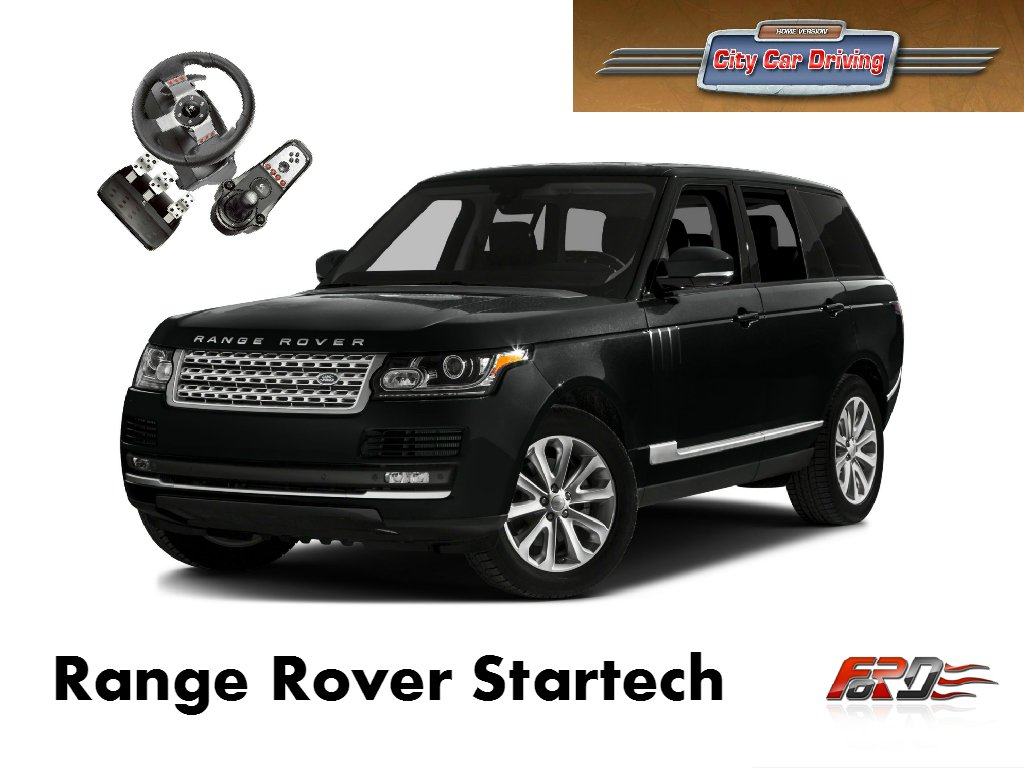 Land Rover Range Rover - тест драйв, обзор, off-road унылая понторезка City Car Driving  - Изображение 1