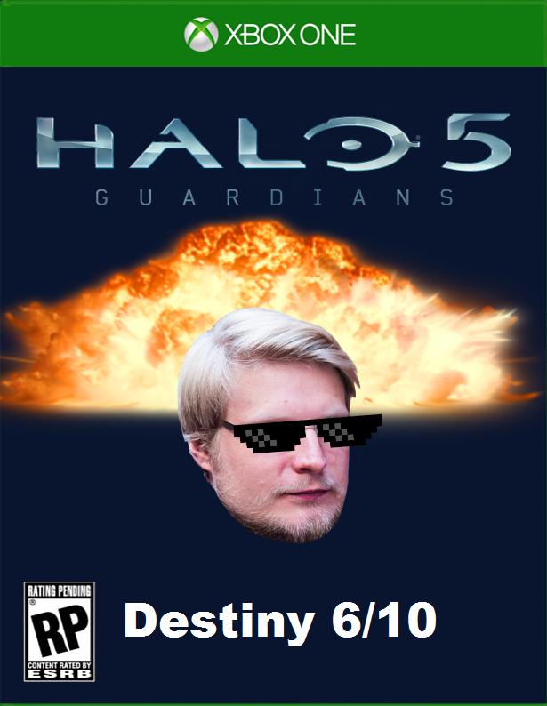 Специальная обложка Хало5 для русской версии - Изображение 1