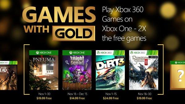 Игры для PS+ и Gold в ноябре 2015 года - Изображение 1