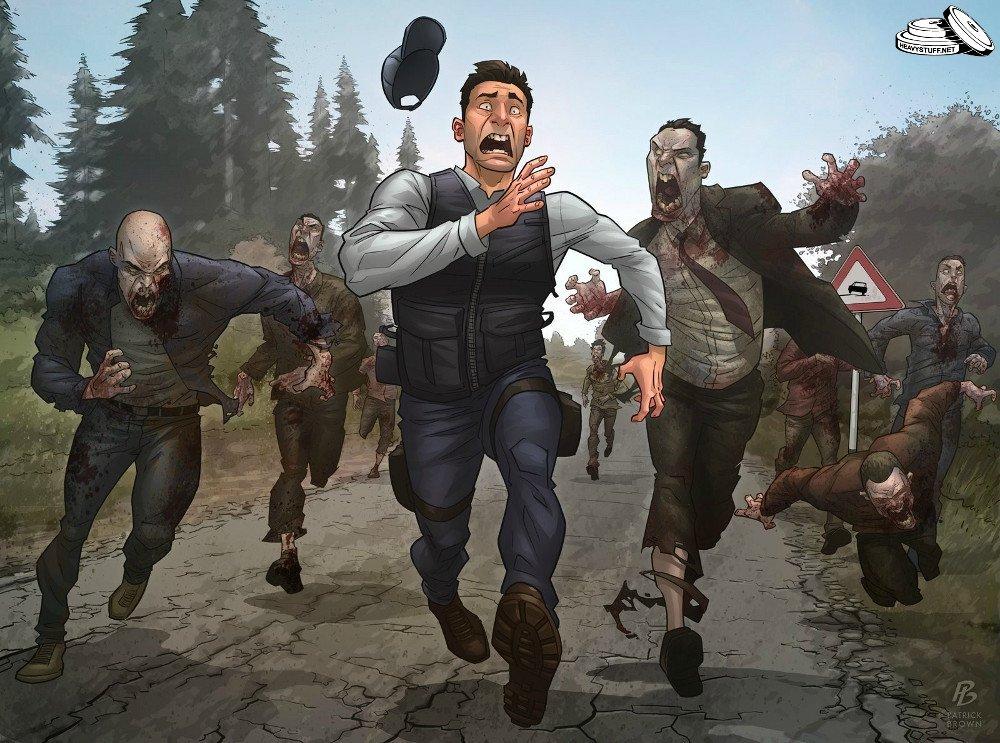 Гайд по выживанию в условиях зомби-апокалипсиса или как я переиграл в игры про зомби - Изображение 5