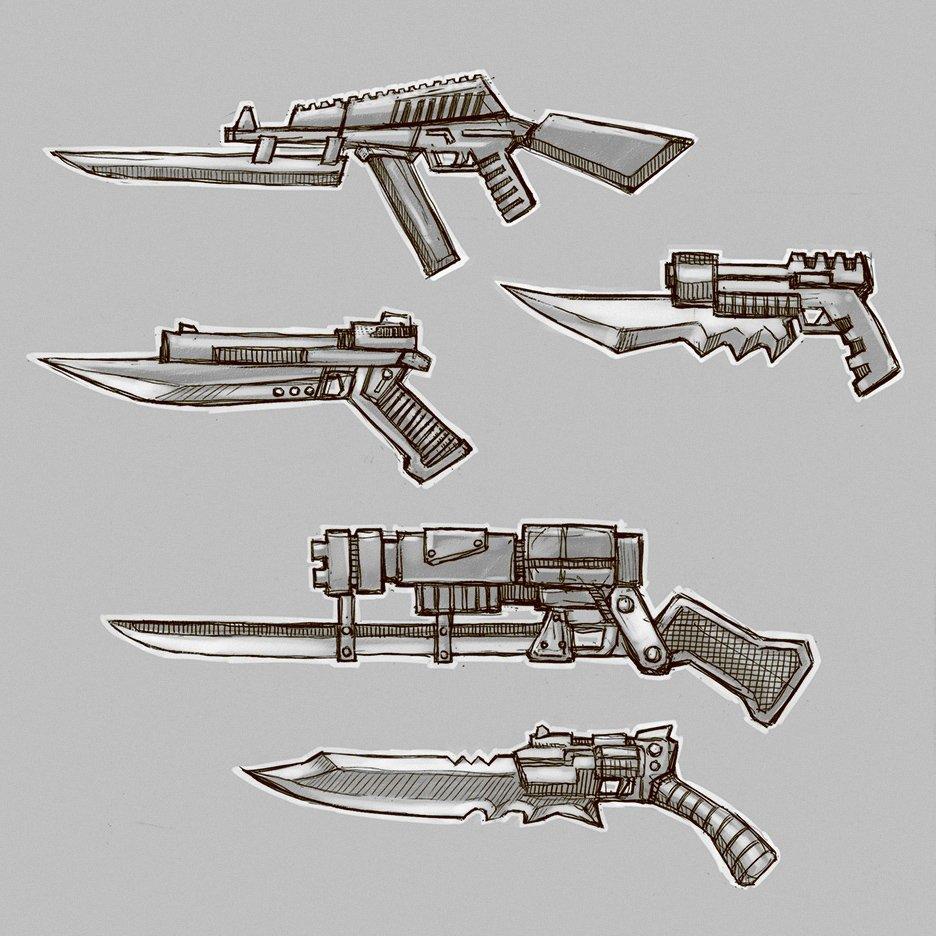 Automatic Gunblade ZA96 - Изображение 3