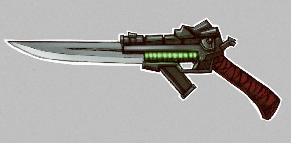 Automatic Gunblade ZA96 - Изображение 2