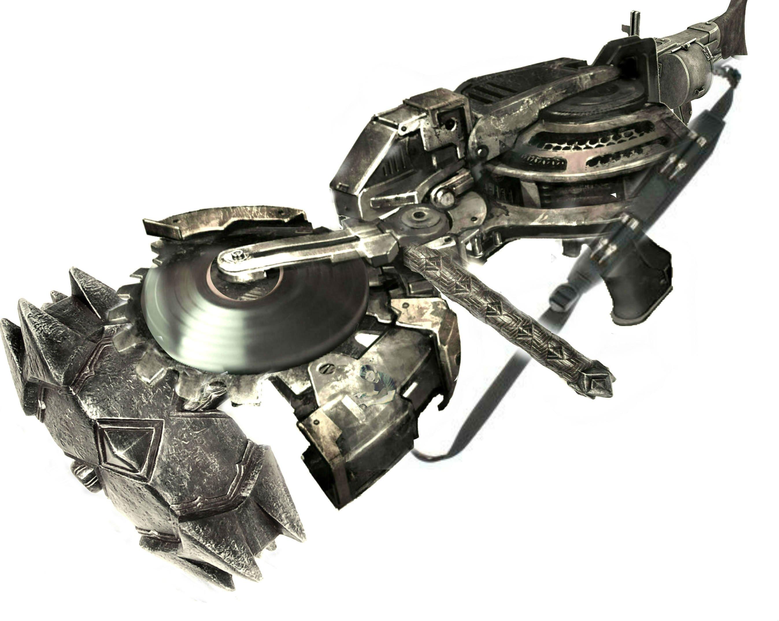 Лучшее оружие пустошей - боевой YOBA-пиломолот Ненависти Говарда - Изображение 1