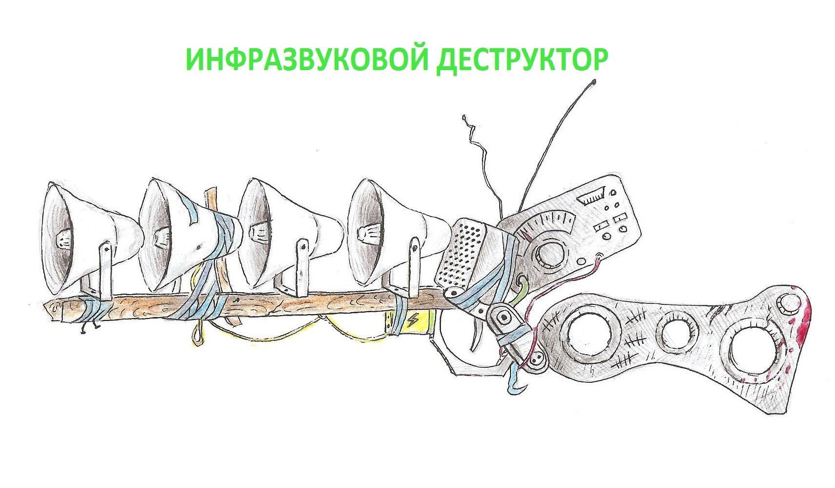 ИНФРАЗВУКОВОЙ ДЕСТРУКТОР - Изображение 1