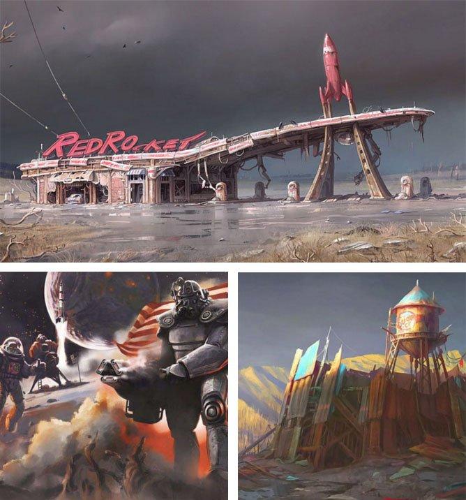 Подборка арта к Fallout 4 - Изображение 1