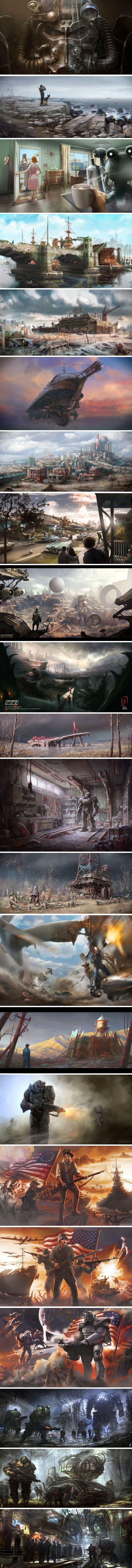 Подборка арта к Fallout 4 - Изображение 2