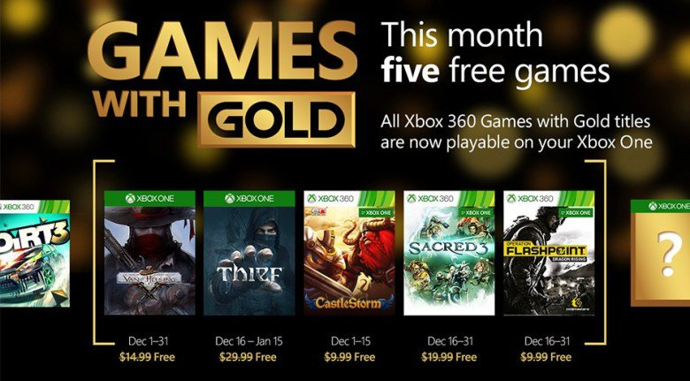 Бесплатные игры для подписчиков Голда в декабре. - Изображение 1