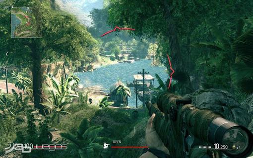 """Вторая """"запоздавшая рецензия"""". На сей раз моя статья расскажет Вам о прошлогоднем стелc-шутере Sniper: Ghost Warri .... - Изображение 6"""