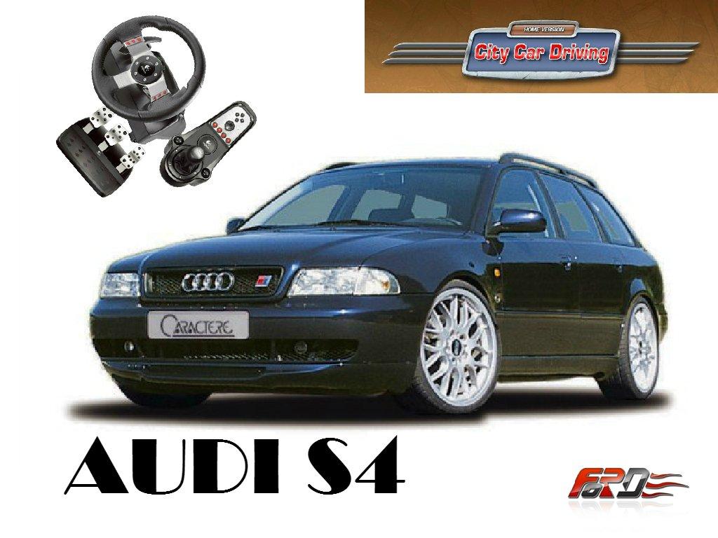 Audi A4 B5 (S4) тест-драйв, обзор спортивного автомобиля девяностых в City Car Driving  - Изображение 1