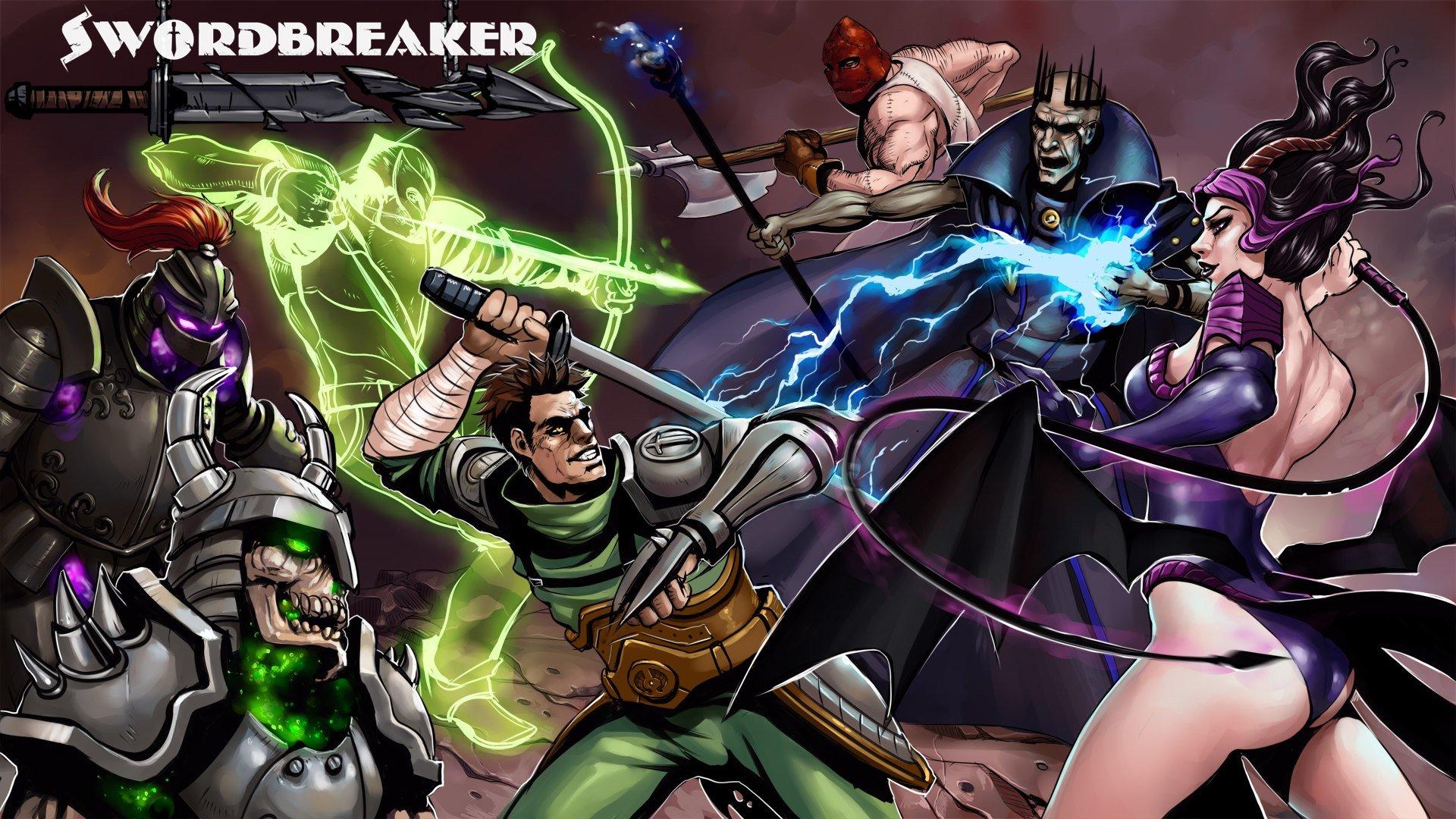 Релиз Swordbreaker'а в Стиме! - Изображение 1