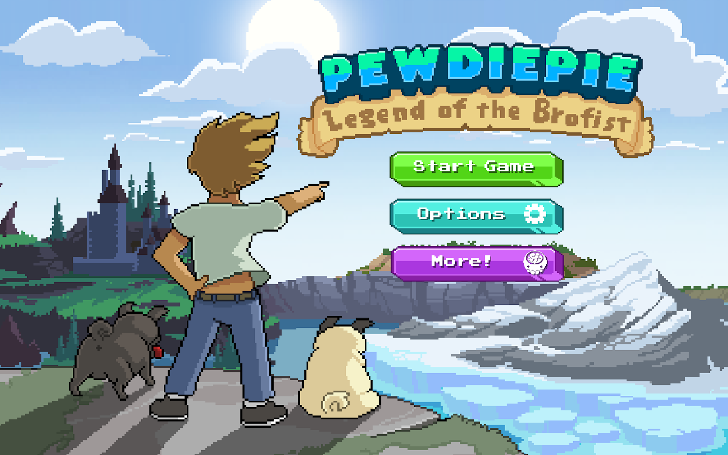 Видео-обзор PewDiePie: Legend of the Brofist - Изображение 1