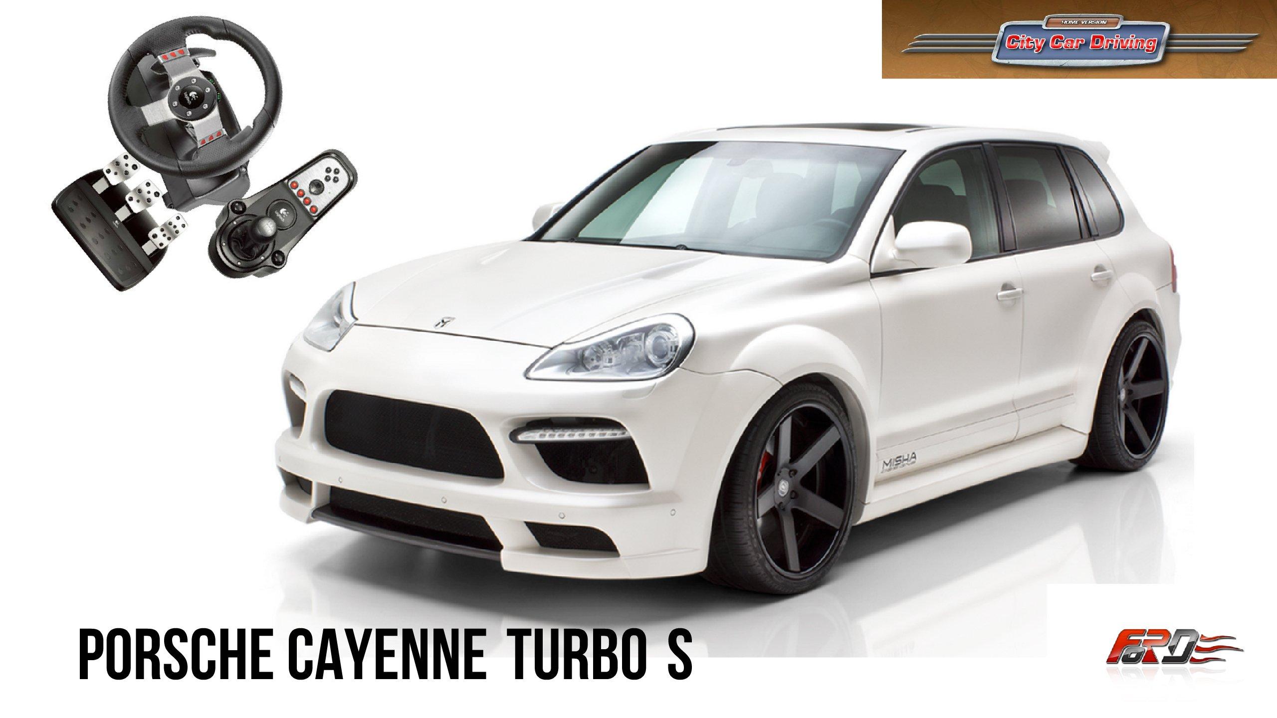 Porsche Cayenne Turbo S - тест-драйв, обзор спортивного кроссовера, зима, City Car Driving  - Изображение 1