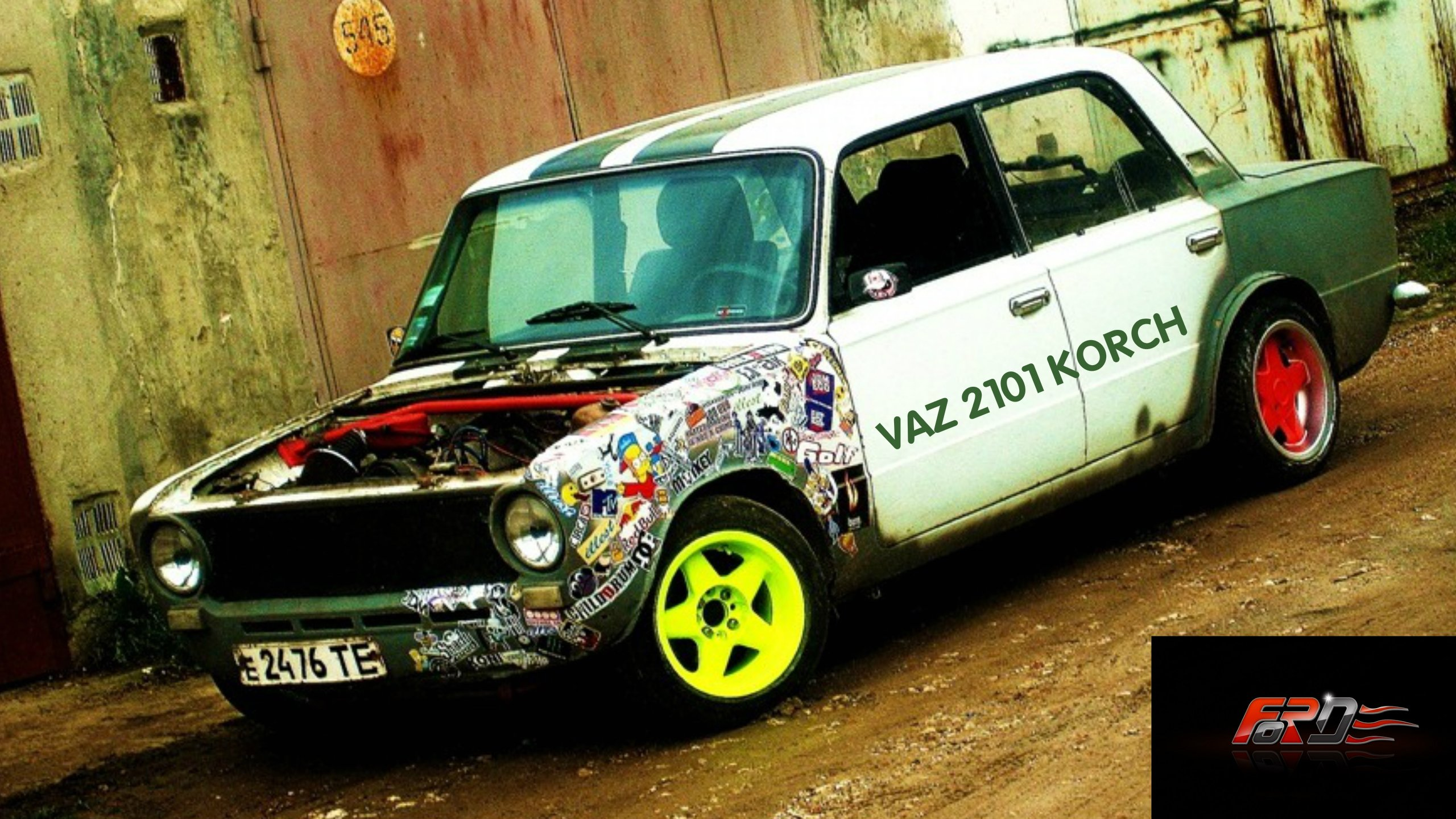 """ВАЗ 2101 """"Копейка"""" (VAZ 2101) корч тест-драйв, обзор, дрифт (DRIFT) зима в City Car Driving  - Изображение 1"""