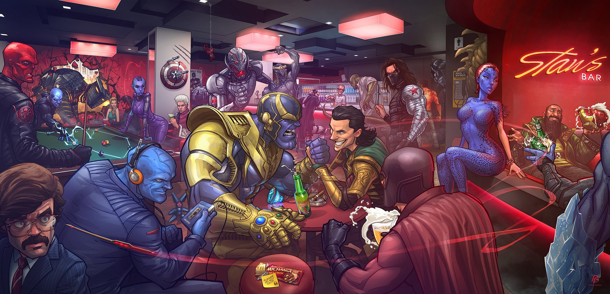 Marvel Villains by Patrick Brown - Изображение 1