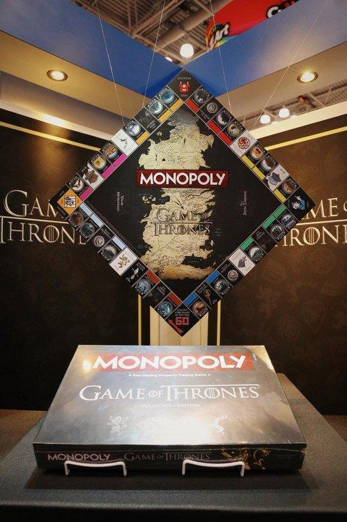 Этим летом в магазине HBO появится монополия, посвященная Game of Thrones. - Изображение 1