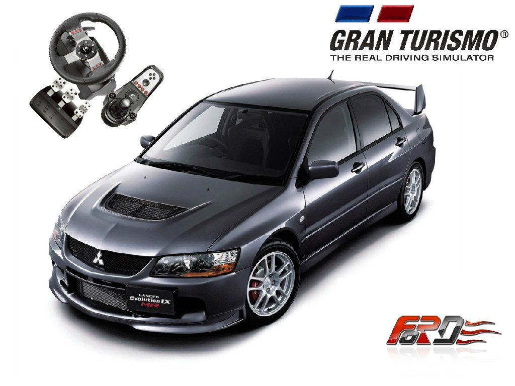 [ Gran Turismo 6 Logitech G27 ] обзор автомобилей Mitsubishi Lancer Evolution IX и VW Golf MK4  - Изображение 1