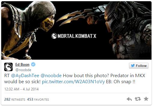 Слух: в Mortal Kombat X появится Хищник. + Опрос - Изображение 2