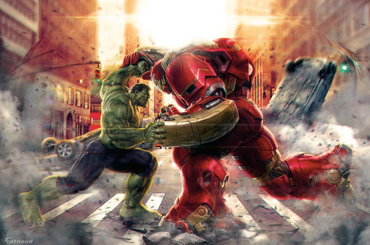 Немножко вкусного промо-арта из Мстителей 2. - Изображение 2