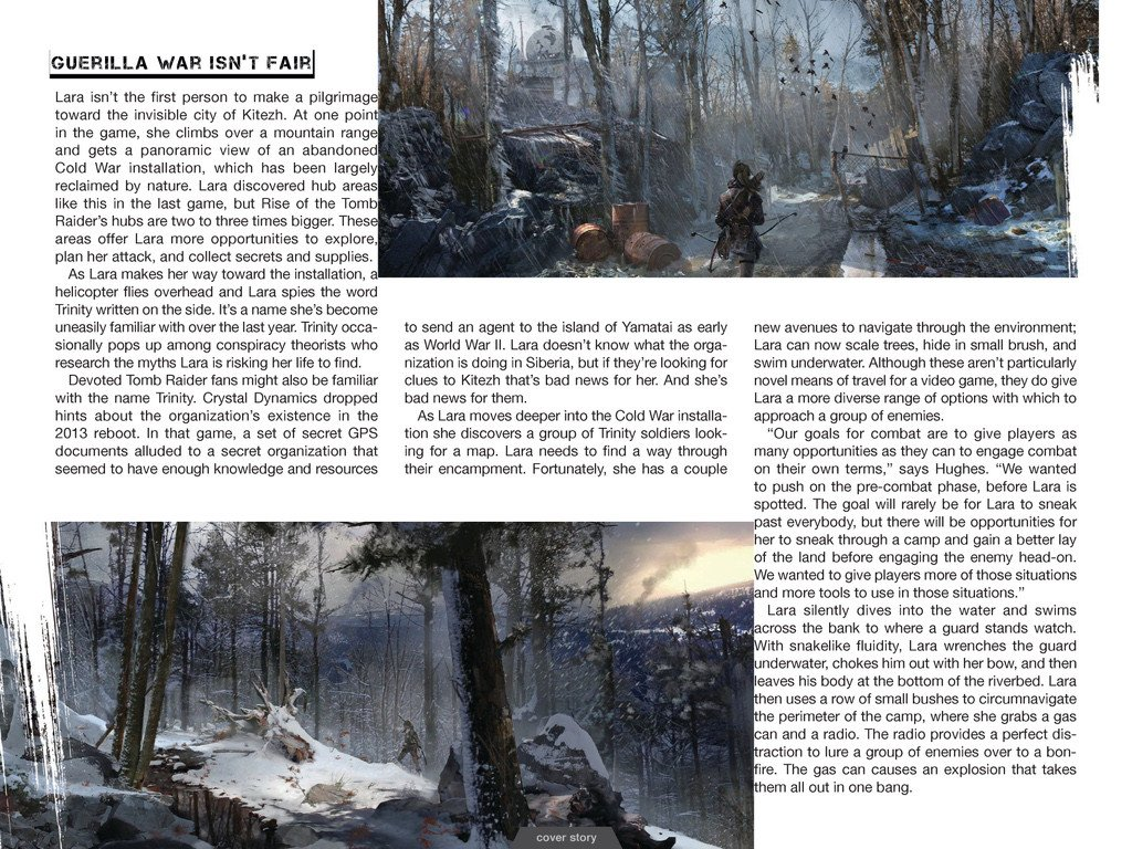 Свежие подробности Rise of the Tomb Raider. Обновлено. - Изображение 14