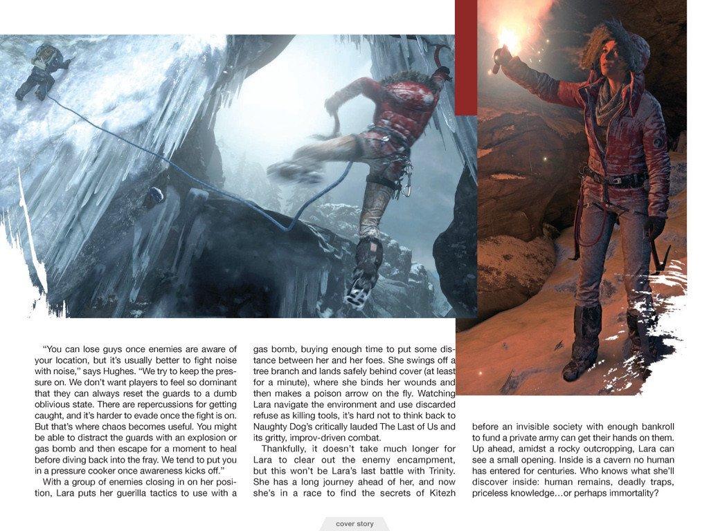 Свежие подробности Rise of the Tomb Raider. Обновлено. - Изображение 15