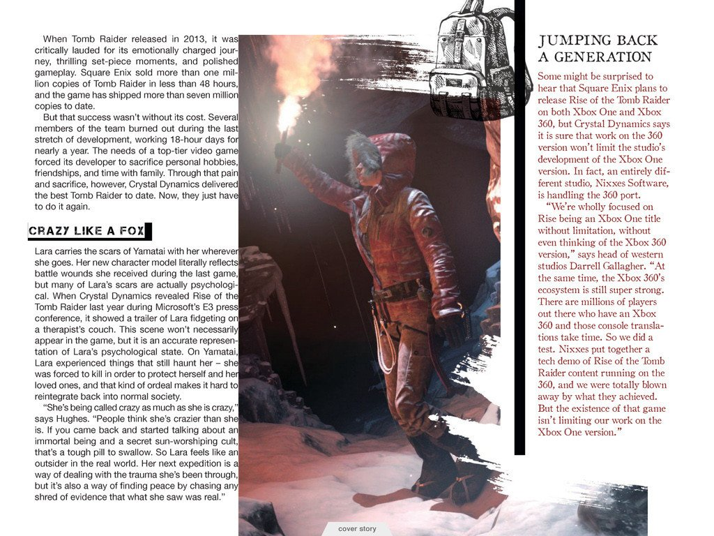 Свежие подробности Rise of the Tomb Raider. Обновлено. - Изображение 7