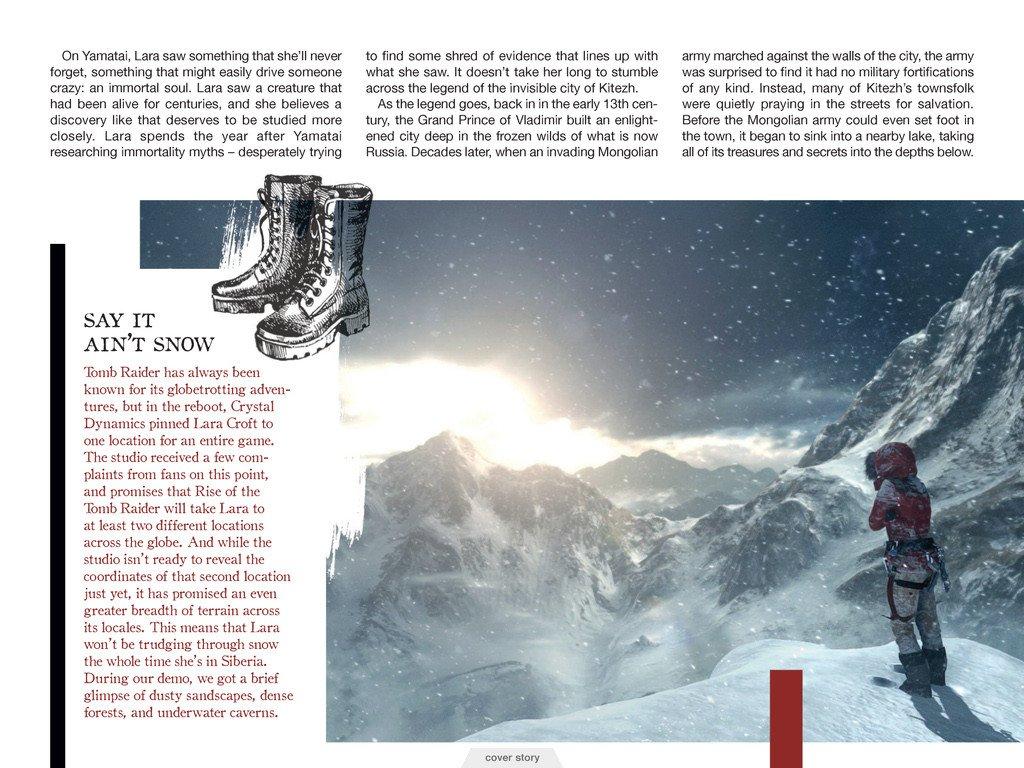 Свежие подробности Rise of the Tomb Raider. Обновлено. - Изображение 8