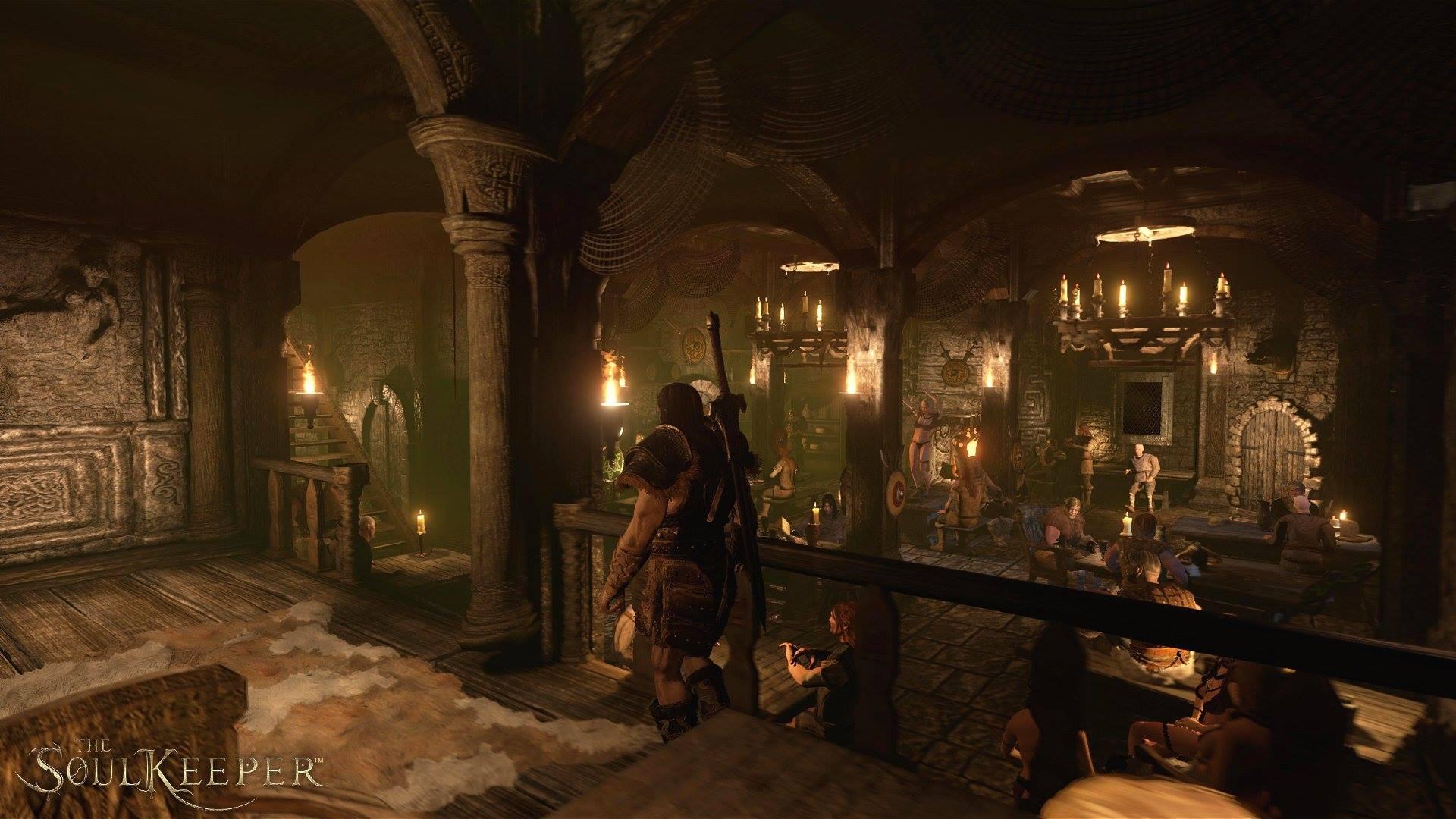The Soul Keeper - RPG на Unreal Engine 4 - Первые скриншоты... Скайрим ты ли это ? - Изображение 6