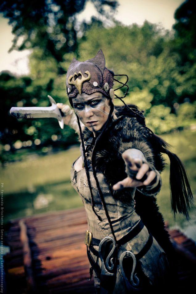 Годный косплей героини Hellblade - Изображение 3