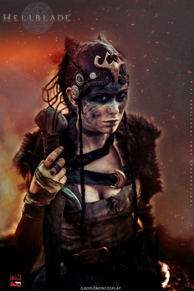 Годный косплей героини Hellblade - Изображение 1