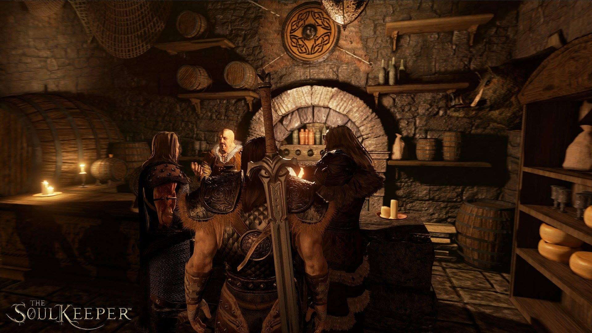 The Soul Keeper - RPG на Unreal Engine 4 - Первые скриншоты... Скайрим ты ли это ? - Изображение 2