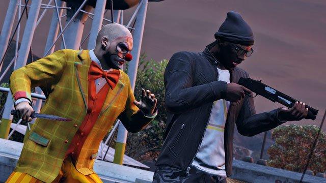 Кровожадные клоуны-зомби в GTA Online - Изображение 1