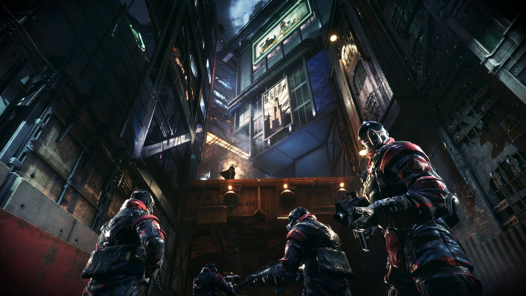 Новые скриншоты Batman: Arkham Knight - Изображение 6