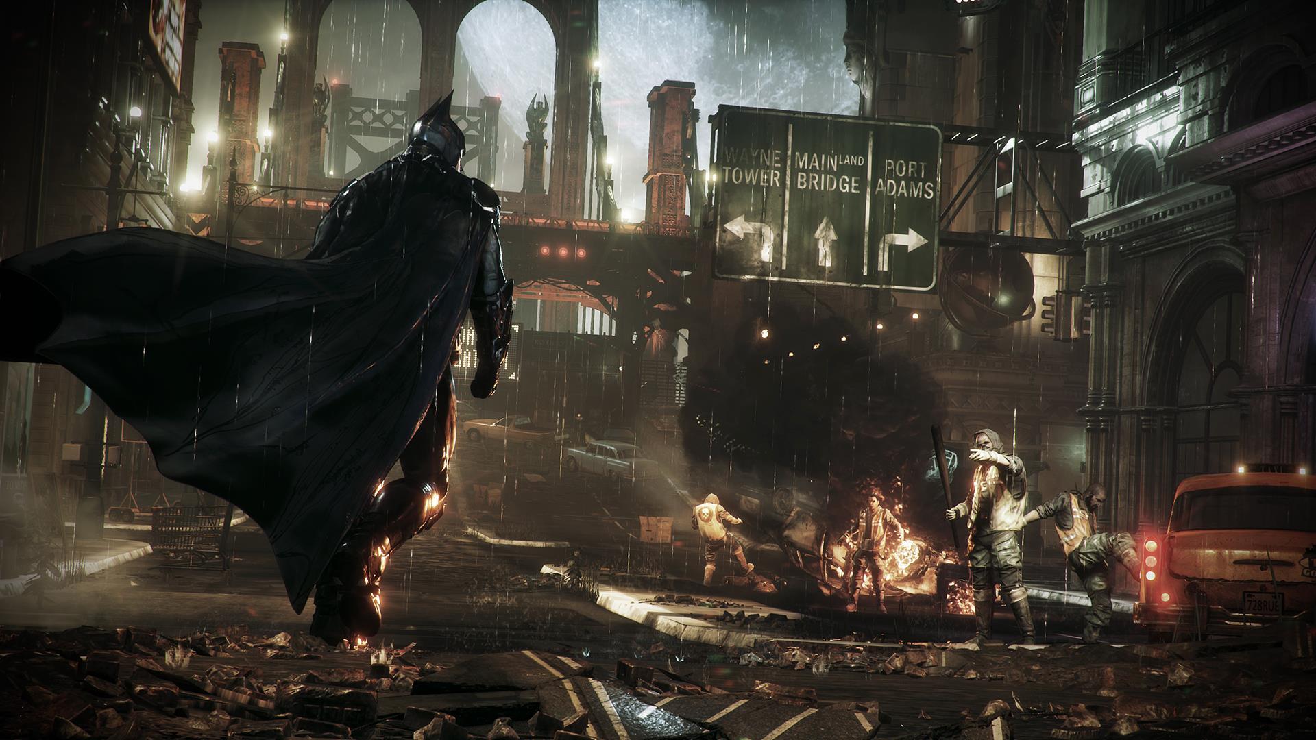 Новые скриншоты Batman: Arkham Knight - Изображение 2