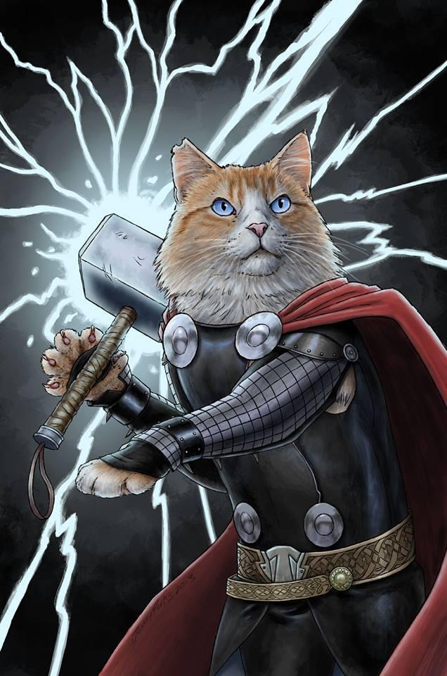 Внезапно: 1 марта – день кошек в России.  - Изображение 1