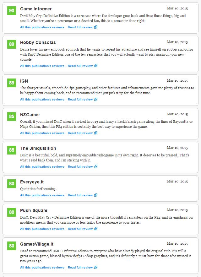 DmC: Devil May Cry Definitive Edition - первые оценки проекта - Изображение 3