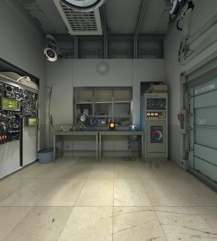 Первые скриншоты Source 2 из Aperture Demo - Изображение 1