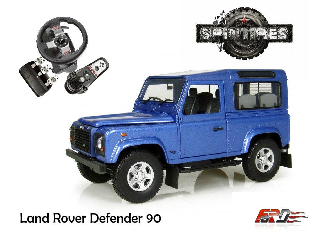 [ SpinTires 2015 ] Land Rover Defender 90 тест-драйв, обзор, off-road автомобилей, внедорожников  - Изображение 1